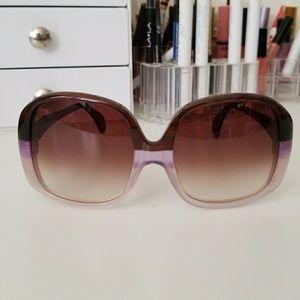 Wildfox oversized Sunglasses